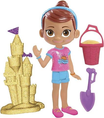 Vampirina - Figuras Vampirina y sus amigos Poppy y Castillo de arena (Bandai 78322): Amazon.es: Juguetes y juegos