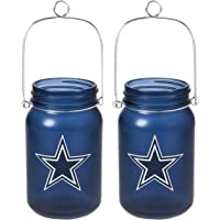TSA NFL Green Bay Packers LED Mason Jar Lantern 2pk