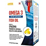 Ioth Omega 3 Fish Oil - With 360/240Mg Of EPA/DHA - 60 Premium Highly Concentrated Smaller Softgels Easy To Swallow.