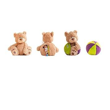 En Peluche – Creative Toys – Eva – Vert et Violet Buddy Balle Teddy Bear 04034