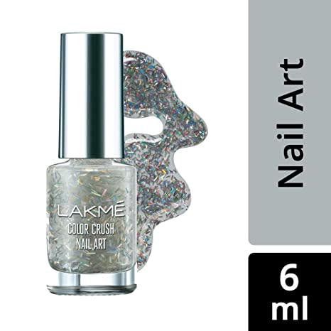9e478c8ef9 Image Unavailable. Image not available for. Colour: Lakme Color Crush  Nailart ...
