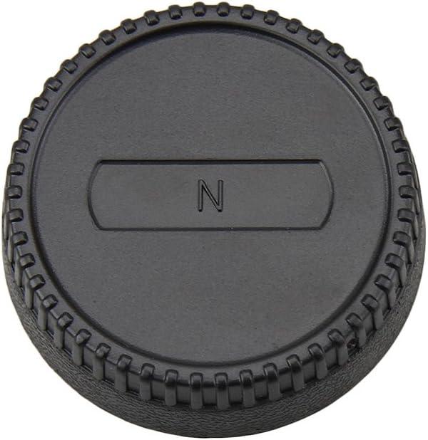 JJC L-R2 Rear Lens Cap and Camera Body Cap for Nikon DSLR