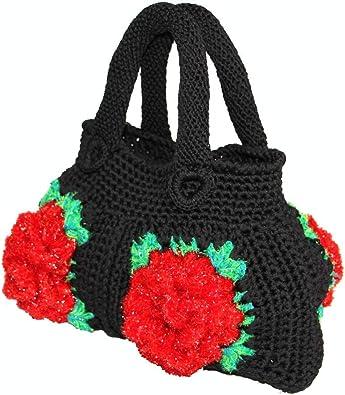 Hand Crocheted Shoulder ToteBag 06