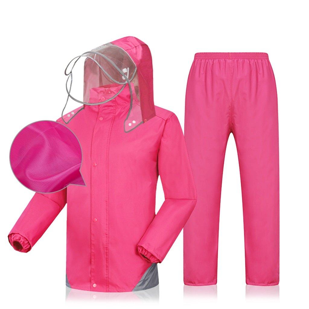 WQ-Regenjacken Regenmantel Regenhosen Einzel Erwachsene erhöhen Verdickung Männer und Frauen Split Suit (größe   L) B07FJNGZXK Jacken Hohe Qualität und Wirtschaftlichkeit