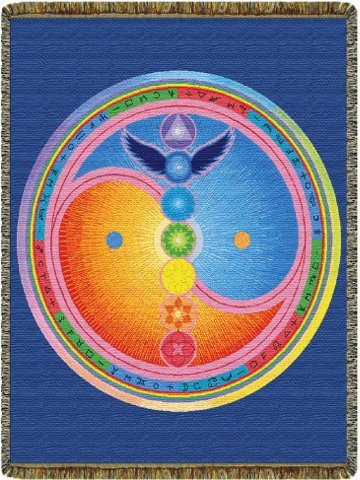 Sacred Centers Tapestry Throw Blanket