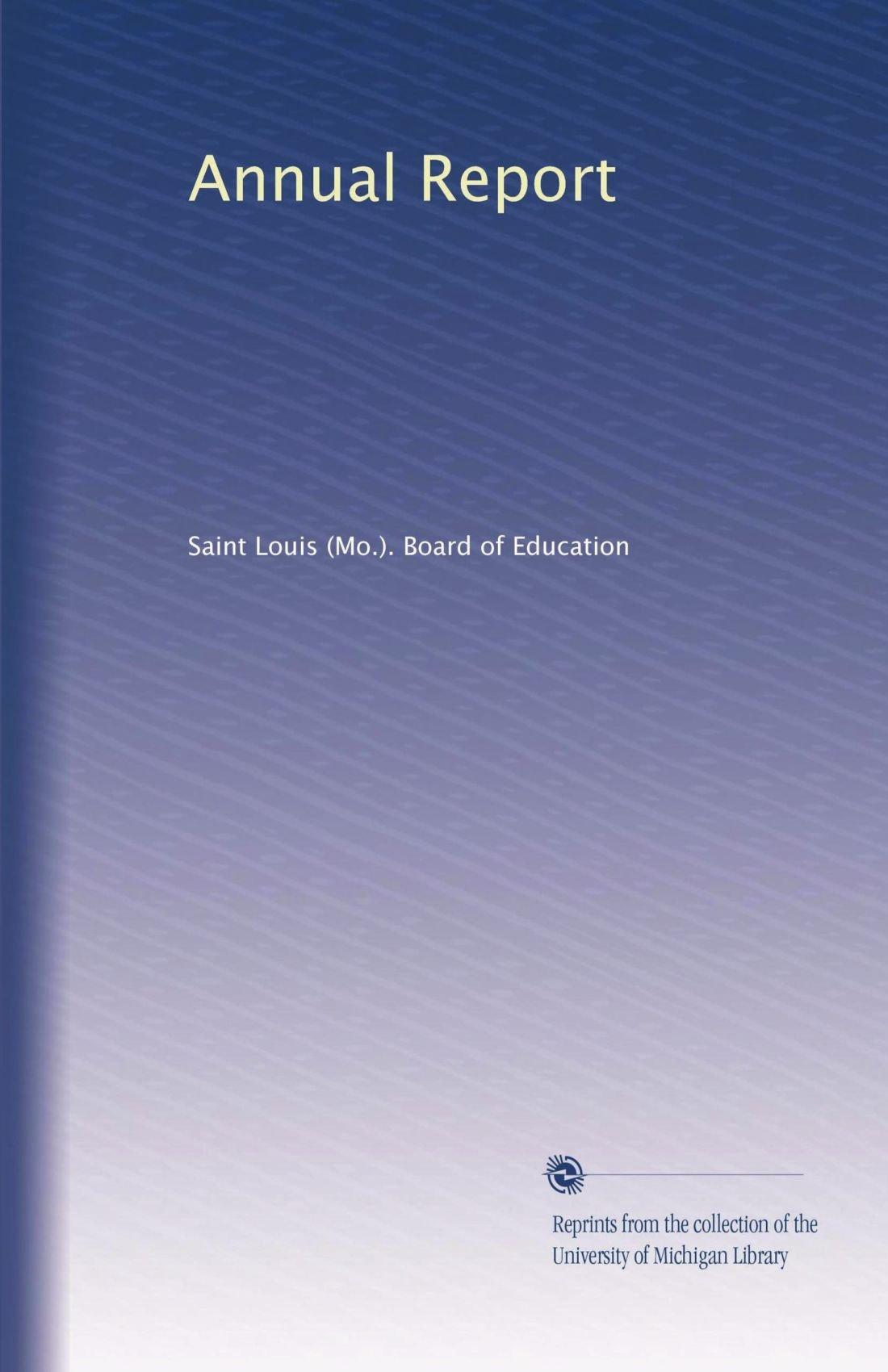 Read Online Annual Report (Volume 7) ebook
