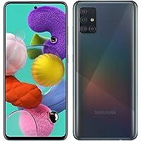 Samsung Galaxy A51 GSM desbloqueado, Prisma Crush Negro, 128 GB