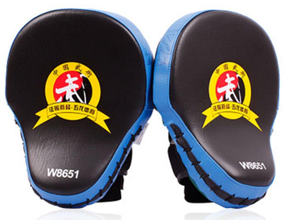 SaySure - 1pieces lot   Muay Thai MMA Boxing Gloves Sandbag Punch Pads Hand Target Focus Training Circular Mitts for Kick Fighting - GMN-BG-SPT-000365 B00NOH1O1A Zubehr & Gerte Schöne Kunst