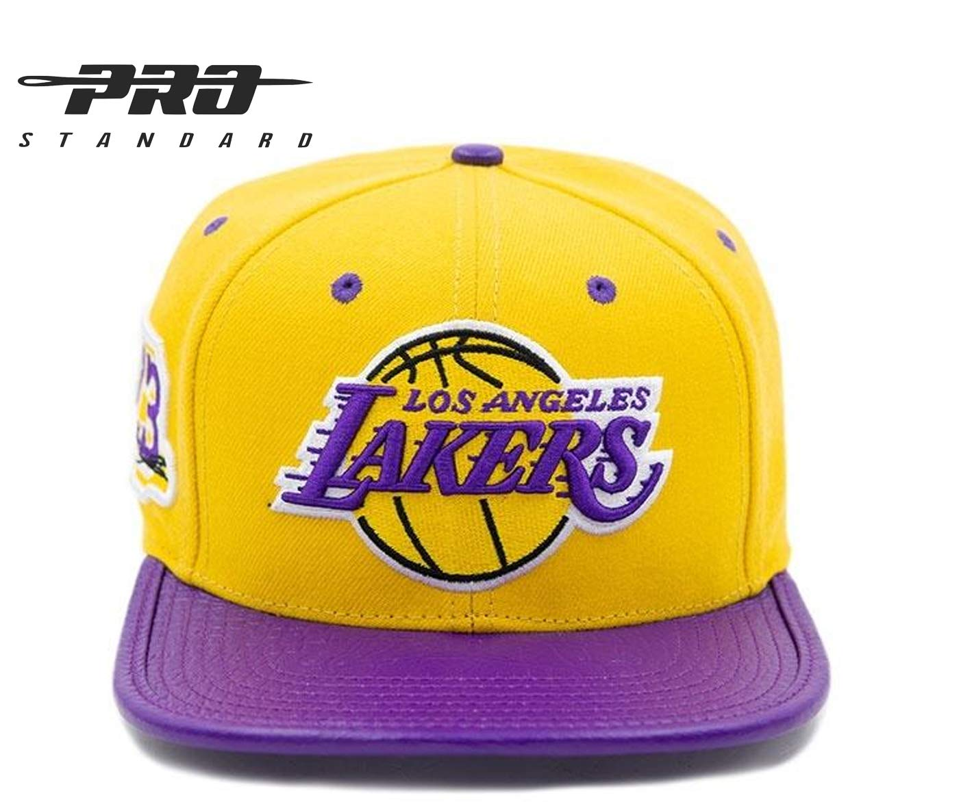 ac99bf7a5a1 Amazon.com   Pro Standard Los Angeles Lakers Lebron James Signature  Officially Licensed Genuine Leather Cap   Sports   Outdoors