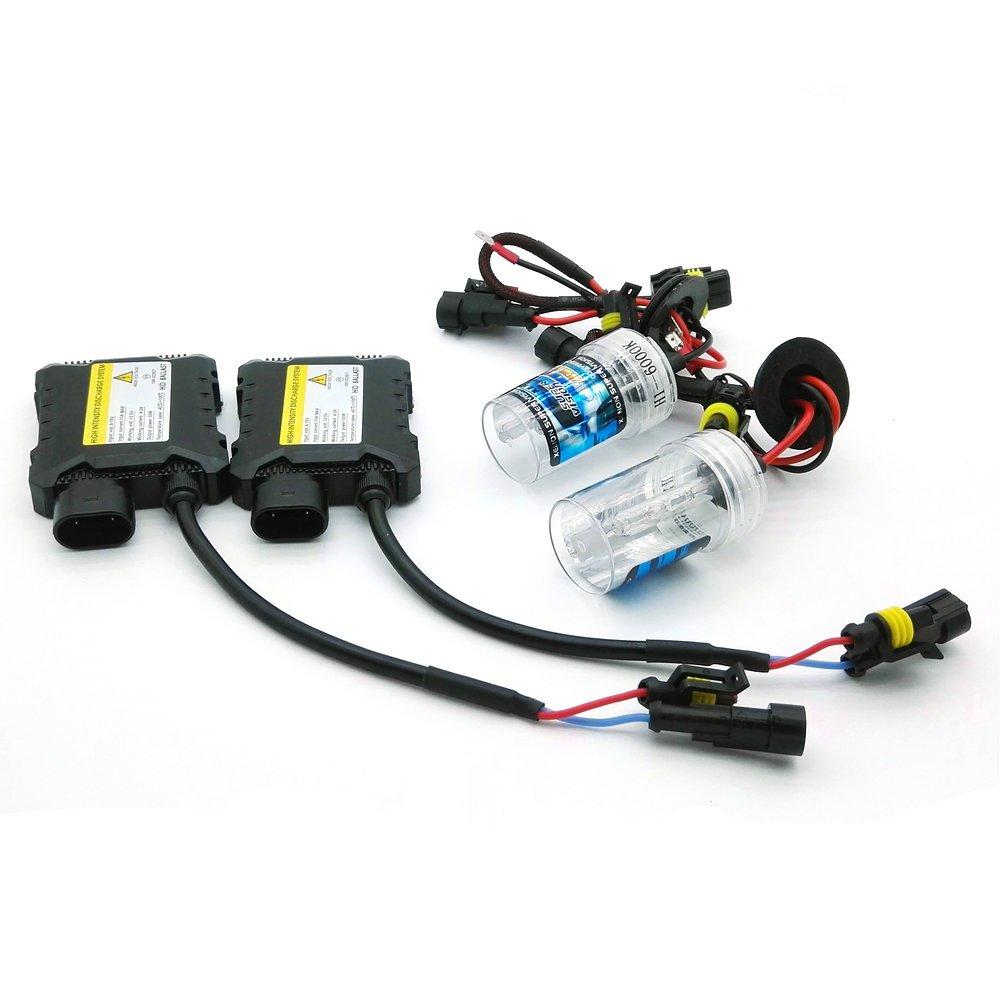 1/coppia di fanali allo xeno 55/W HID per auto kit di conversione e sostituzione Heinmo H3/H7/H9/H11/H8/H1/9005/9006/880/881/HB3/HB4 HID