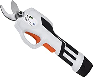 LIGO Electric Pruning Shears for Garden Cordless Rechargeable Power Pruner, Tree Branch Flowering Bushes Trimmers with Safety Protection, MAX 25mm(0.98 Inch) Cutting Diameter (Pruner)