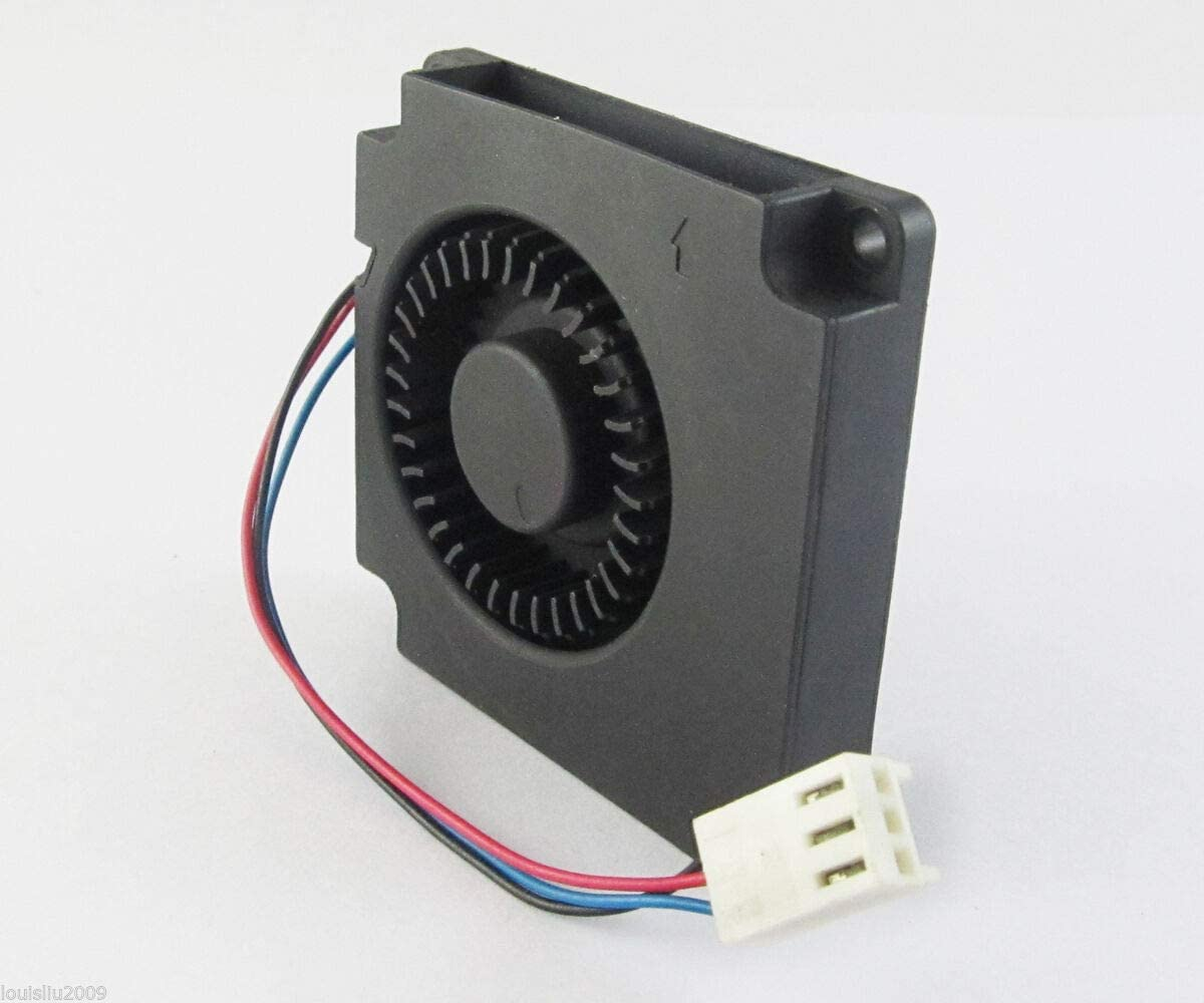 1//2pcs 50mm 12V 2Pin Quiet DC Brushless Computer Cooler Cooling Fan 50x50x10mm