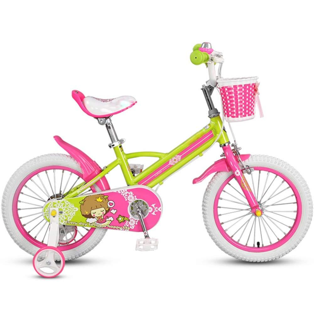 Axdwfd 子ども用自転車 キッズバイク、子供用自転車トレーニングホイール14インチ男の子と女の子のサイクリング、子供に適している年齢35歳青   B07P5STX77