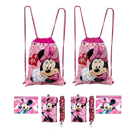 Amazon.com: Disney Mickey y Minnie Mouse, mochilas con ...