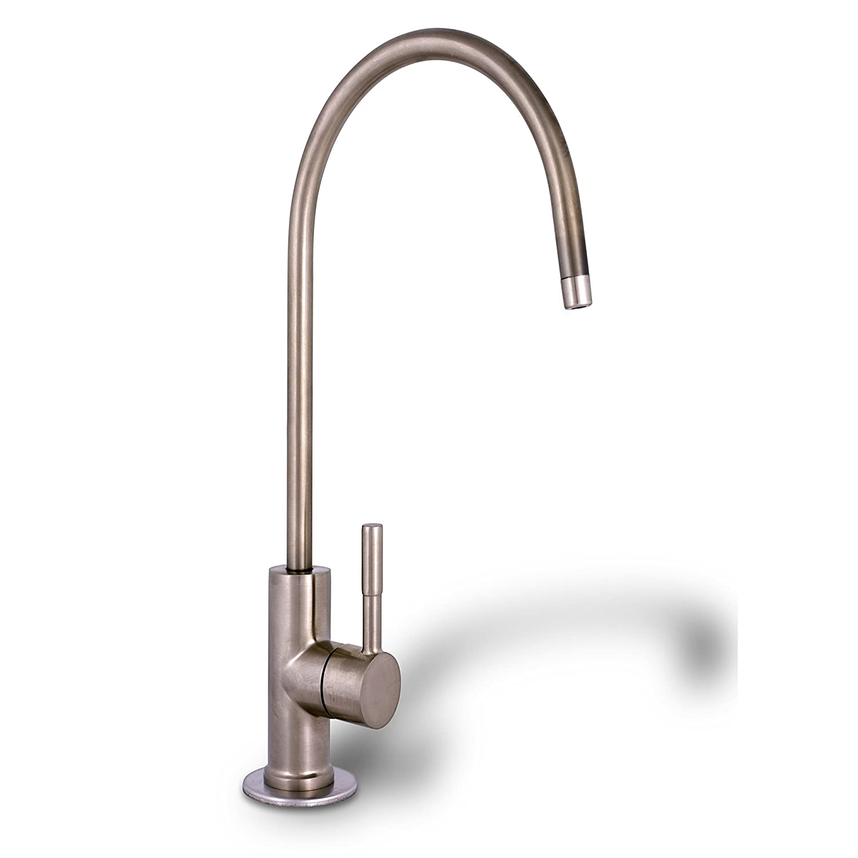 Ronaqua Water Filter Purifier Faucet European Style Brushed Nickel