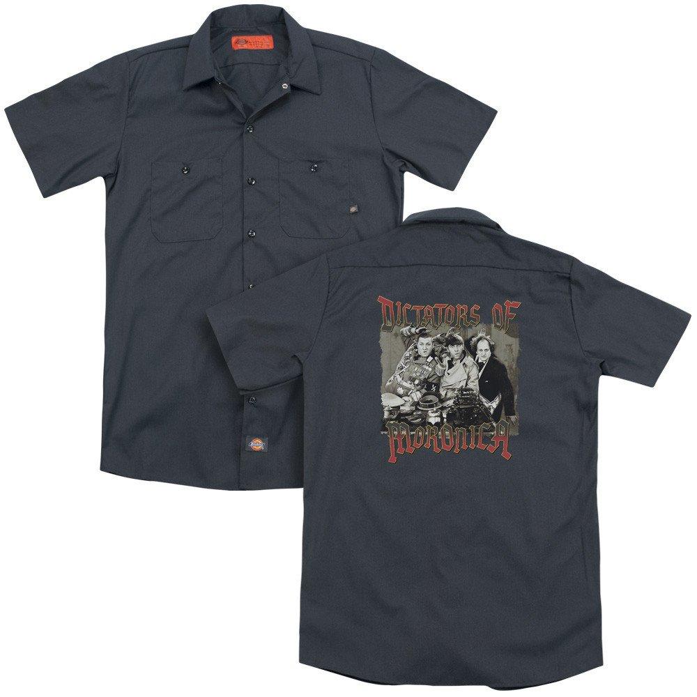 Three Stooges Moronica Adult Work Shirt