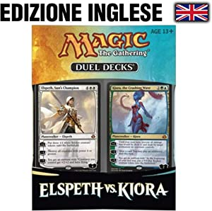 Magic: the Gathering Elspeth vs. KIORA - MTG 2015 Duel Decks Box Set - 120 Cards
