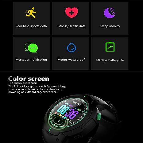 Bluetooth inteligente Reloj-Touch pantalla deportes reloj ...