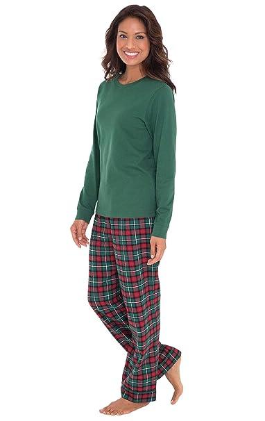 Christmas Pajamas Womens.Pajamagram Women Pajamas Set Plaid Classic Womens Pajamas Sets
