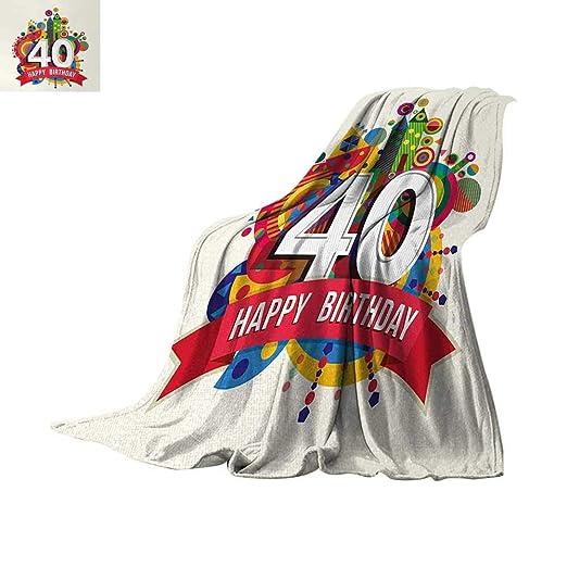 Manta de franela de Anhutres con diseño personalizado de 36 ...