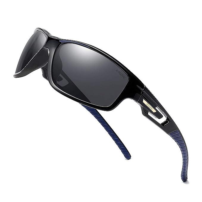 Amazon.com: Gafas de sol polarizadas para conducción, marco ...