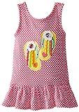 Youngland Little Girls' Knit Flip Flop Applique Sundress