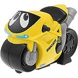 Chicco - Motocicleta Turbo Touch Ducati, recorre más de 10 Metros, Color Amarillo (