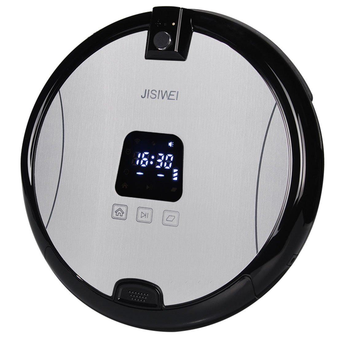 Robots aspiradora, jisiwei yifan S +: inteligente robot aspirador + cámara + WiFi - Silver (US enchufe): Amazon.es: Bricolaje y herramientas