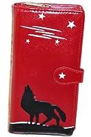 Shagwear Howling Wolf Wallet Red