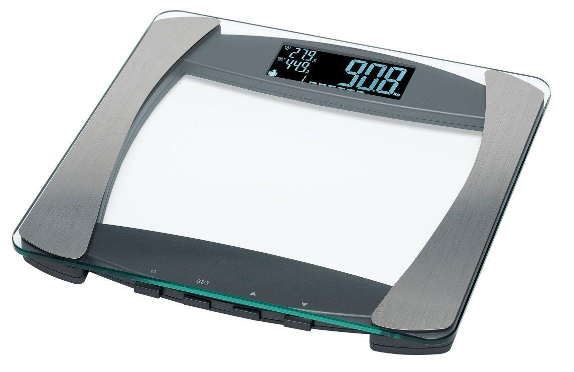 Medion (MD 13242) Báscula de grasa corporal, cálculo de grasa corporal de, masa muscular Porcentaje de y agua, autom. usuario, detección cálculo del BMI, ...