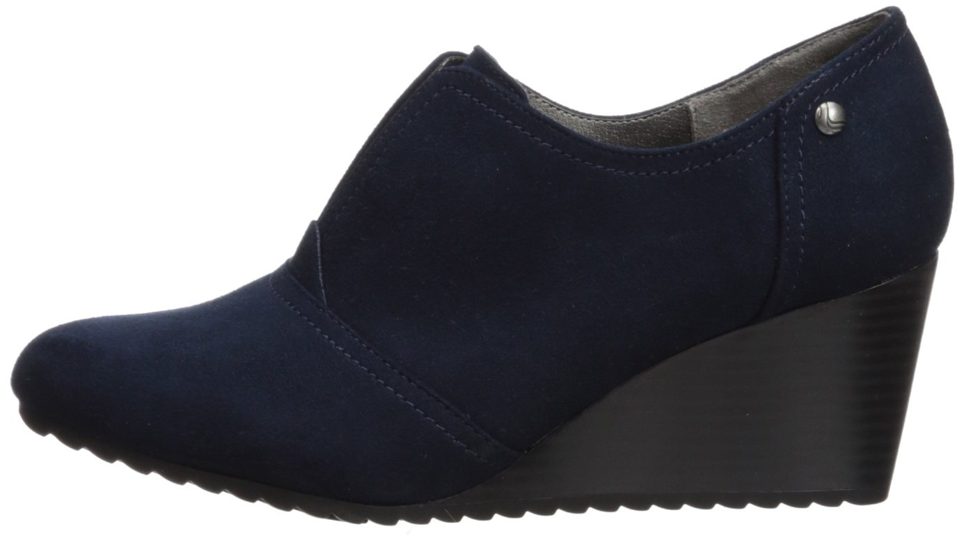 LifeStride Women's Punch Ankle Boot B075G6G56M 8.5 W US Navy