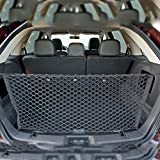 GOUGOU Car trunk baggage net car net pocket polypropylene material black grid car net pocket