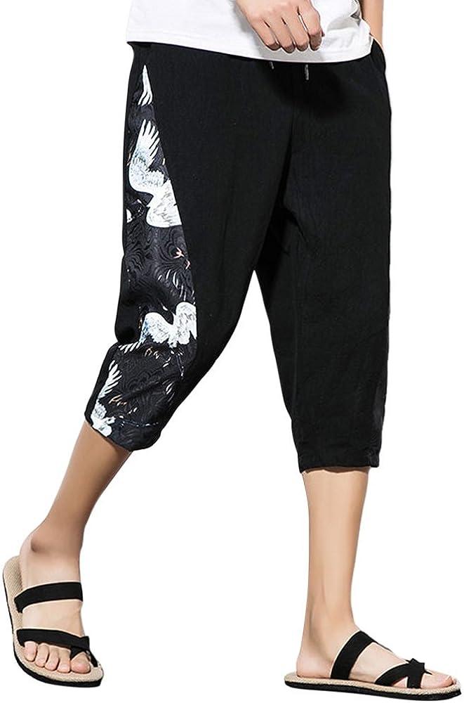 Zhuhaitf Hip Hop Bombachos Baggy Pantalones Harem-Hombre Mujer Plus Size Algodón Lino Yoga Pantalones Boho Aladdin Pantalones: Amazon.es: Ropa y accesorios
