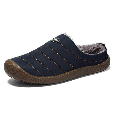 DoGeek Zapatillas de Casa Zapatillas de Hombre Invierno Interior y Exterior, Impermeable y Caliente EU37-48: Amazon.es: Zapatos y complementos