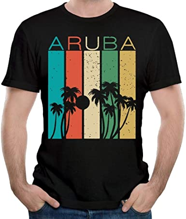 Aruba Souvenir, el último Hombre, Camisa de Manga Corta, Ropa de Verano, Tops para Hombres 3XL: Amazon.es: Ropa y accesorios