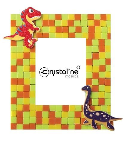 amazon com crystaline mosaic diy mini table top picture frame kit