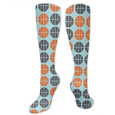 ELIST - Calcetines de compresión de baloncesto para hombre y mujer ...