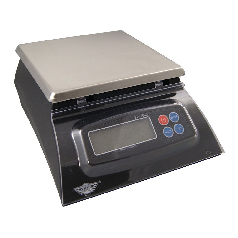 My Weigh KD-7000 Kitchen And Craft Digital Scale My Weigh AC Adapter COMINHKPR104242 Black