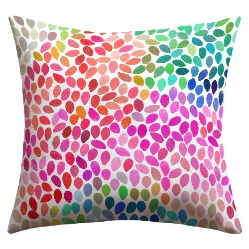 Deny Designs Garima Dhawan Rain 5 Outdoor Throw Pillow, 18 x 18