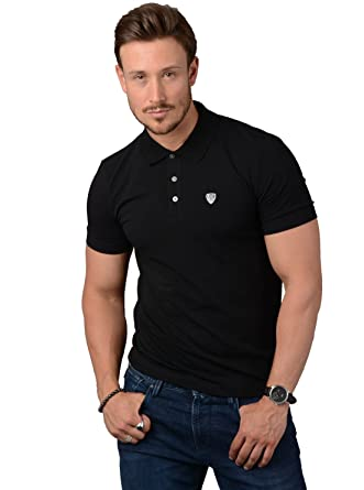 Soccer Noir Coton Ea7 Fit Armani Polo Slim Stretch Homme 8wkpno0 3Rj4AL5cq