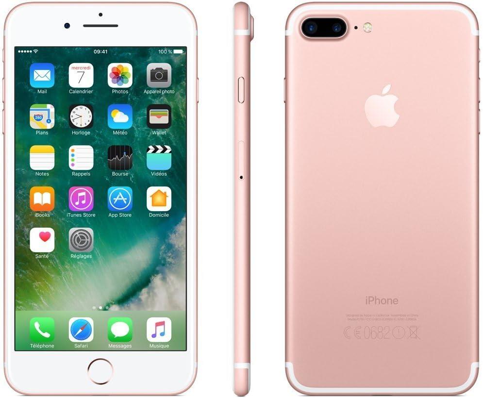 Apple iPhone 7 Plus 128GB Oro Rosa (Reacondicionado): Amazon.es ...