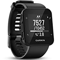 Garmin Forerunner 35 GPS Running Watch with Wrist-Based Heart Rate and Workouts - Black,010-01689-00