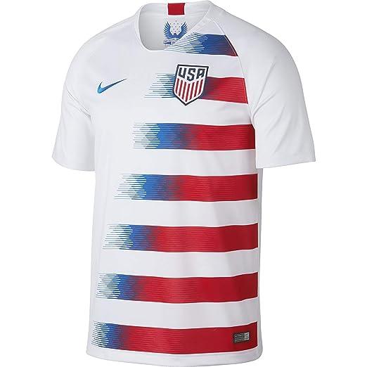ad81eae16b823 NIKE Men's Soccer US Home Jersey (Medium)