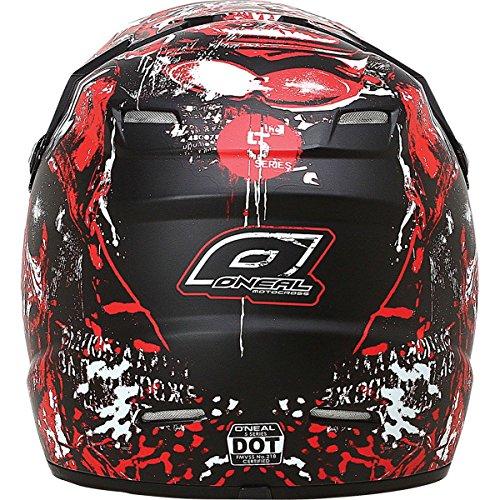 O'Neal 5 Series Warhead Helmet (Red/White, X-Large)