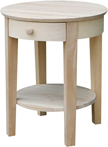 International Concepts Unfinished Philips End Table