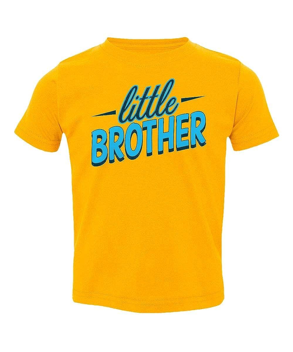 Societee Little Brother Funny Cute Family Love Little Kids Girls Boys Toddler T-Shirt