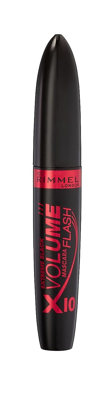Amazon.com : Rimmel London - Volume Flash Mascara x10 Extreme Black. : Beauty