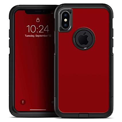 Amazon.com  Solid Dark Red - Skin Decal Kit for The iPhone 6 or ... 58f2fb6d5