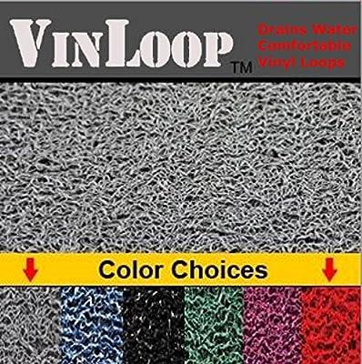 VinLoop Vinyl Pool, Bathroom, Locker Room, Shower, Spaghetti Mat by MattingExperts Drains Water, Comfortable Looped Mat