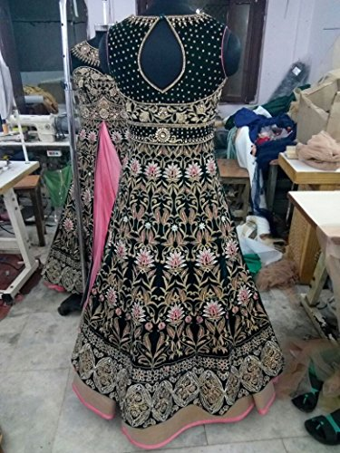 Blue Heavy Customized Dress Offer Ready to wear Europe size 32 to 44 ...